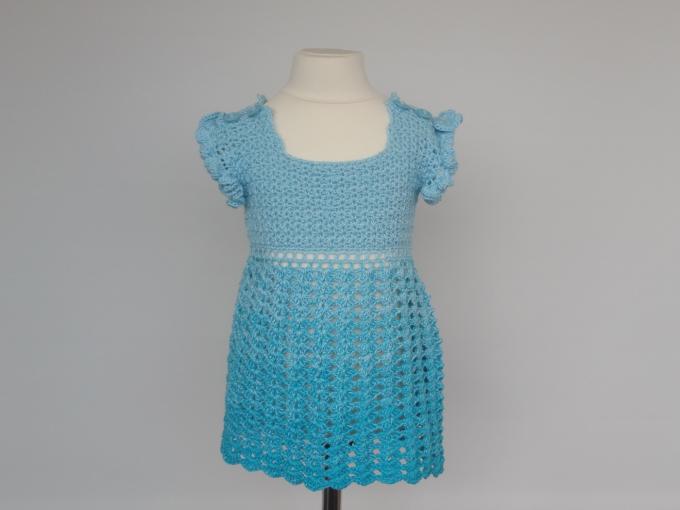 Ein Sommerkleid gearbeitet mit Verlaufsgarn. - Farbverlaufsgarne und ...