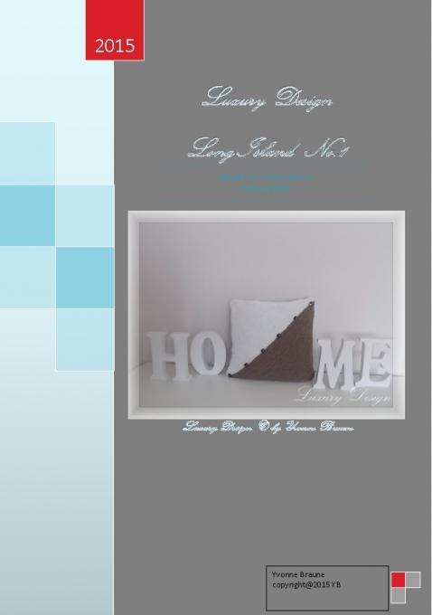 E book h kelanleitung kissen long island style no 1 for Long island style
