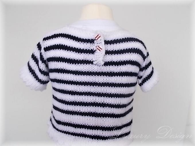 Strickanleitung für einen Pullover unisex - Luxury Design